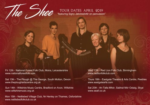 shee april flyer