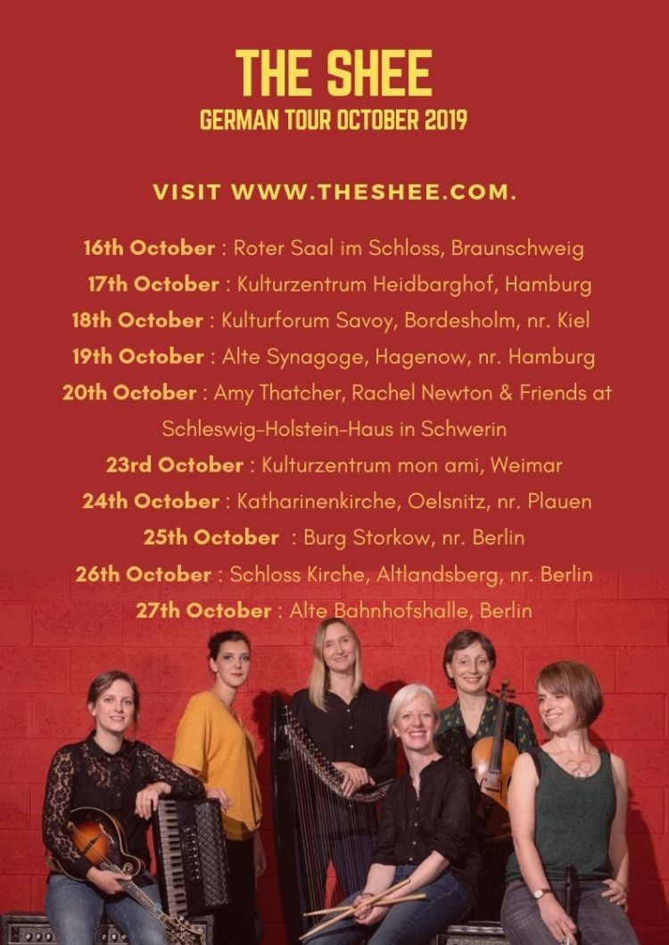 The Shee German Tour October 2019